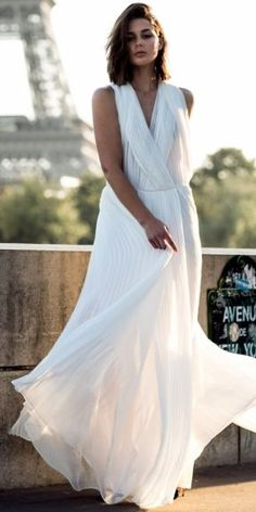 White Party Gown Fall Inspo by Harper & Harley