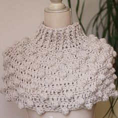 Crochet PATTERN (pdf file) - Bobble Snood or Poncho (two in one). $3.99, via Etsy.