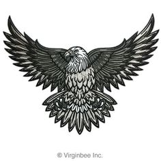 eagle tattoo, worked into a Victorian frame?? #UltraCoolTattoos