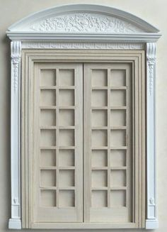 An image of A 5 part double doorcase set that will grace any room or hallway. Shown with door ODD, sold seperately.