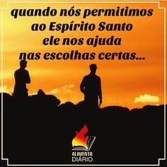 MARQUE SEUS AMIGOS PARA RECEBER A PALAVRA E SEJAM EDIFICADOS!!! #nossoalimentodiario #deusébom #heart #coração #deuséfiel #fé #féemdeus #bible #jesus #jesuschrist #jesuscristo #paz #bomdia #amem #love #god #EspíritoSanto #family #familia #tmj #Pregação #Gospel #Holy #HolySpirit #coração #heart #life #vida #amor #teamojesus #VivendoPraDeus #PertoDeDeus  Todos nós somos resultados de nossas escolhas... Que o Espírito Santo tenha liberdade para influenciar nossas vidas na hora das escolhas que…