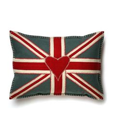 Decorative Pillows Union Jack, Scottish & Welsh Flags