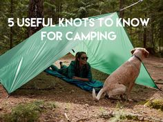 New on the blog! We've put together 5 knots you should know for the upcoming camping season! What's your go-to knot? We won't judge you if it's a granny knot. #liveyourquest #aqwaterproof