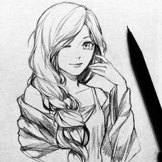 Аниме рисунки 描画
