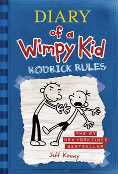 Diary of a Wimpy Kid #2 : Rodrick Rules Author : Jeff Kinney.Recommended for ages 8 - 12 Awesome book, better that the first.  4.5 Star Rating