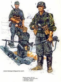 Uniformes Segunda Guerra Mundial Aliados y El Eje