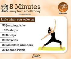 Health Tips For Living: Right When You Wake Up - Tips