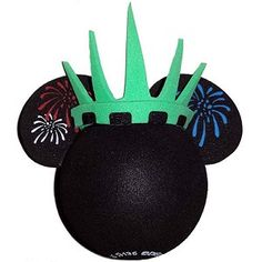 Disney Antenna Topper Ball - Minnie Statue of Liberty