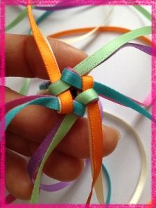 ribbon lei More ribbon lei Ribbon Lei, Ribbon Braids, Diy Ribbon, Ribbon Work, Ribbons, Money Lei, Money Origami, Cute Crafts, Crafts To Make