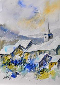 Watercolor Pol Ledent