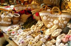 alpargatas crochet capazos crochet. Mercado Las Dalias Ibiza