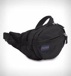 e6eaaf6ff6a7 Jansport Fifth Avenue Waist Pack Black Skate Shoulder Bag Bum Bag Messenger  Bag (2)