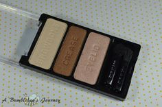 A Bumblebee´s Journey: Wet ´n´ Wild - Color Icon Eye Shadow Trio - Walking on Eggshells (Review)