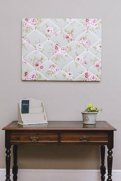 english rose notice board and pin board by pins and ribbons | notonthehighstreet.com