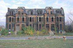 Estate house, Detroit, Michigan. #Revolution