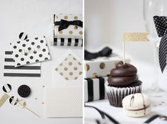 Styled Shoot: Black & White Party