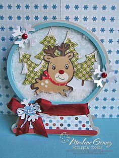 My Craft Spot: Monday Challenge Christmas shape cards! Cricut Christmas Cards, Simple Christmas Cards, Christmas Paper Crafts, Cricut Cards, Xmas Cards, Holiday Cards, Christmas Ideas, 3d Cards, Cute Cards