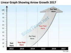 product_roadmap_timeline_linear_graph_showing_arrow_growth_2017_powerpoint_templates_slides_Slide01