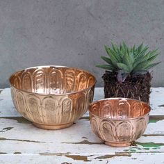 Afra Copper Bowls - £14.95 - RawXclusive