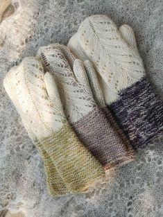 Hilda Mittens – a free knitting pattern by Kristi Everst. Lace Knitting, Knitting Patterns Free, Knitting Needles, Free Pattern, Knit Crochet, Crochet Patterns, Pattern Ideas, The Mitten, Knit Mittens