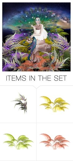 """the gift of the feather"" by merymez ❤ liked on Polyvore featuring art"