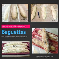 Poolish Baguettes in