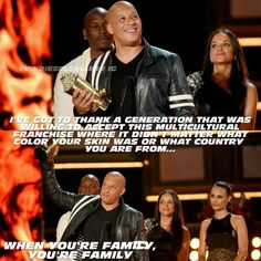 MTV Generation Award 2017 Fast And Furious Cast, The Furious, Paul Walker Movies, Rip Paul Walker, Michelle Rodriguez, Vin Diesel, Dwayne Johnson, Dom And Letty, Dominic Toretto