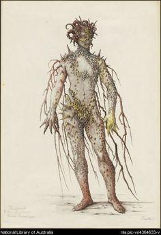 Act II scene i Oberon: I know a bank where the wild thyme grows...Sainthill, Loudon, 1919-1969