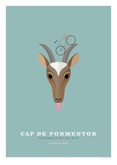 Cap de Formentor Cycling Poster Cycling Hill Climb