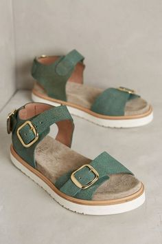 Coqueterra Mint Sandals - anthropologie.com #anthroregistry