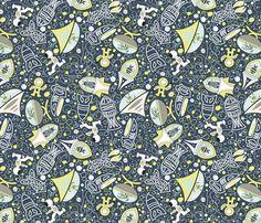 Rocket Runaways fabric by mag-o on Spoonflower - custom fabric