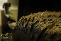 Tires, Dirt, Engagement Ring
