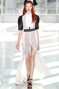 look 28 - Antonio Berardi Spring 2014 Ready-to-Wear Collection Slideshow on Style.com