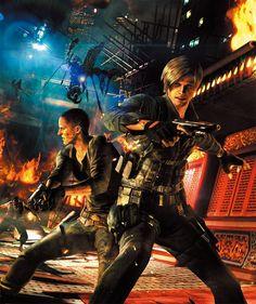 Leon Scott Kennedy & Jake Muller - Resident Evil 6