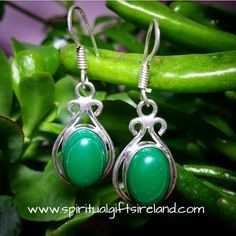 Handcrafted Malachite Earrings Visit our store at www.spiritualgiftsireland.com  Follow Spiritual Gifts Ireland on www.facebook.com/spiritualgiftsireland www.instagram.com/spiritualgiftsireland www.etsy.com/shop/spiritualgiftireland We are also featured on Tumblr