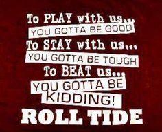 True thus far.... RTR!!!