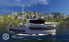 Yacht Design, Fishing Boats, My Works, Concept, Architecture, Stylish, Arquitetura, Architecture Design