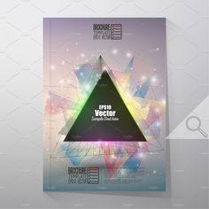 Brochure or flyer tamplates by VectorShop on @creativemarket