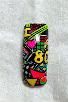by NAILS Magazine | Challenges-results | Pre-Challenge #1: The 1980s