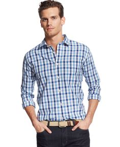 Tommy Hilfiger Port Check Classic-Fit Shirt