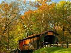 Covered Bridges are so cool!