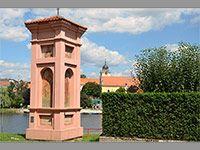 foto Boží muka na Malé Straně - Týn nad Vltavou (boží muka)-foto:Miroslav Bžoch