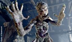 """CGI-animated monster Grendel, from """"Beowulf"""" Character design here is a good, if radical, inspiration for a re-design of Frankenstein's monster. Classic Monster Movies, Classic Monsters, Grendel's Mother, Character Concept, Character Design, Concept Art, Fabulous Beasts, Anglo Saxon History, Halloween Creatures"""