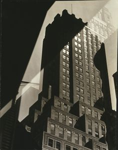 Sherril Schell (American, 1877 – 1964) 'Window Reflection - French Building' c. 1930-32