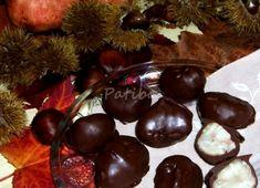 Castagne ricoperte di cioccolato