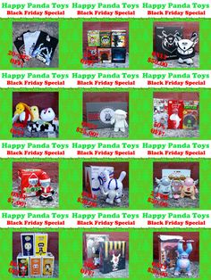 Happy Panda Toys BLACK FRIDAY sale announced!