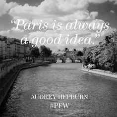 Off to Paris we go… #PFW #AudreyHepburn