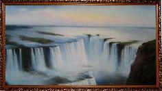 Ниагарский водопад - Водопады <- Картины маслом <- Интерьер <- VIP - Каталог | Универсальный интернет-магазин подарков и сувениров