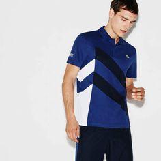 263f86afb877 Men s SPORT Tennis Colorblock Band Tech Piqué Polo Polo Shirt Design