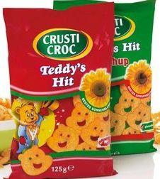 Stroma haar favoriete chips zijn chips in de vorm van beertjes.